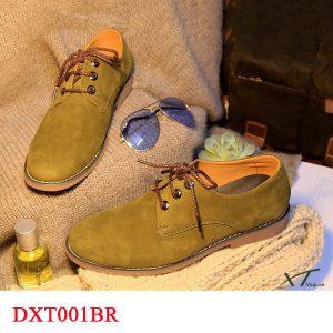 giày buộc dây dxt001br