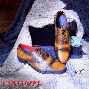giày da nam csxt103pt