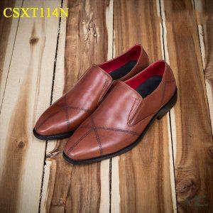 giày da nam csxt114n